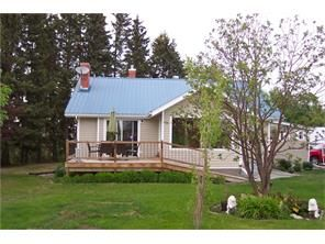 Home and shop on 4 acres near Sundre