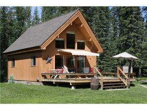 SOLD! River front cabin on 80 acres