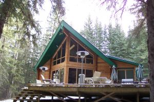 SOLD! Log cabin on 10 acres with creek
