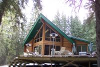SOLD! Log cabin on 10 acres with creek - Rockyview County, Alberta
